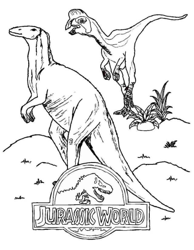 Free Printable Jurassic World Coloring Pages