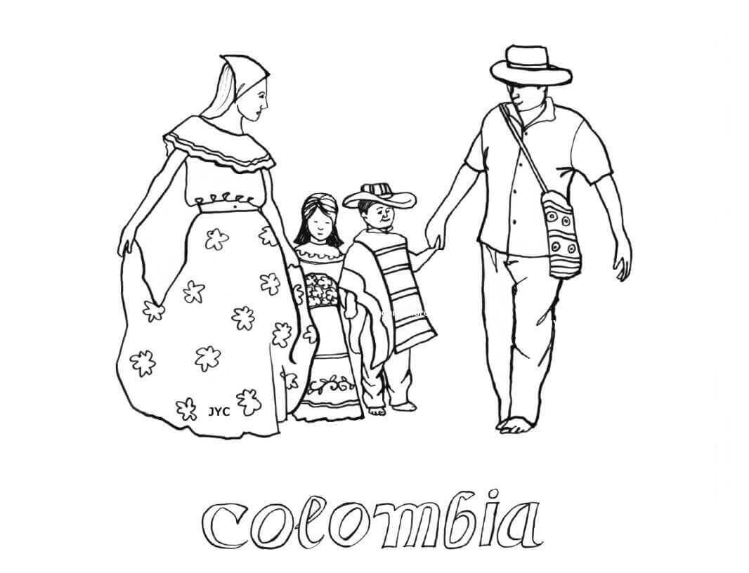 Free Printable July Coloring Pages