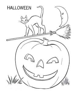Coloring Pages Of Jack O Lantern