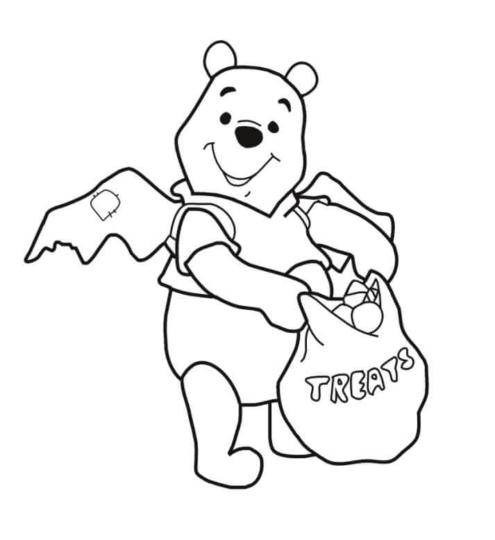 Cute Disney Halloween Coloring Sheets