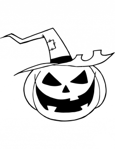 Jack O Lantern Coloring Pictures Printable