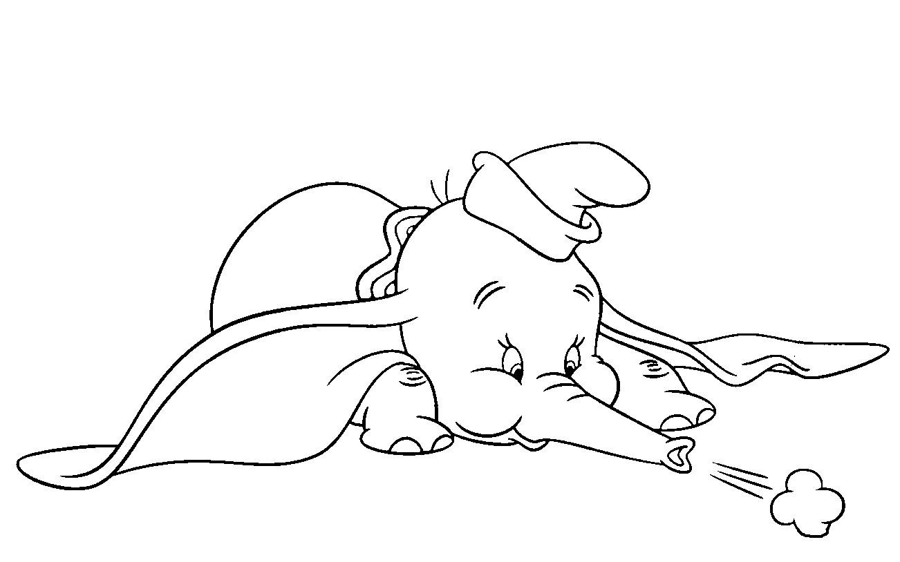 25 Free Dumbo Coloring Pages Printable