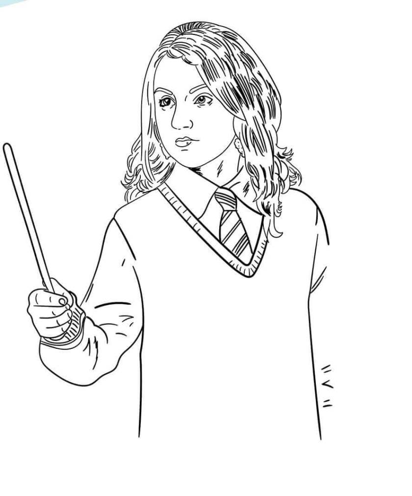 free harry potter coloring pages printable