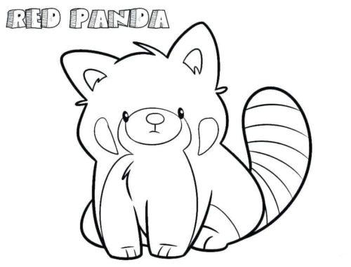 30 Free Panda Coloring Pages Printable