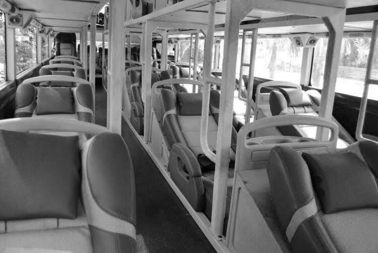 Sleeper bus - not conducive to sleep