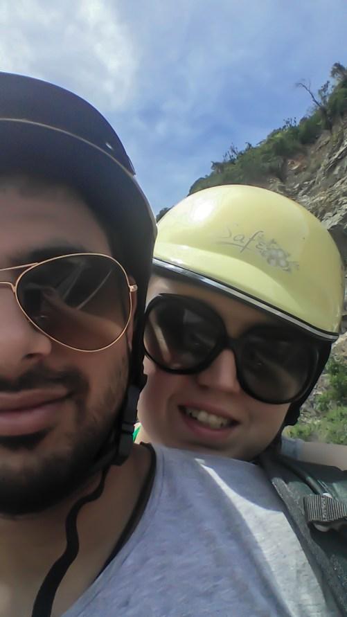 Me, pretending to enjoy the ride