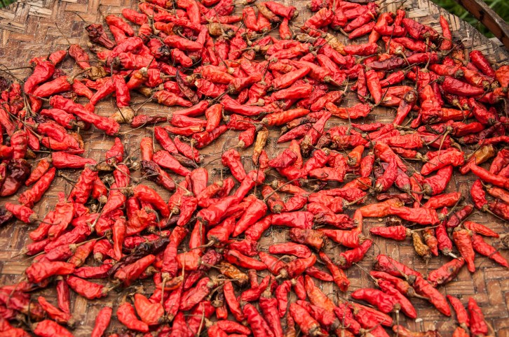 My idea of heaven - a load of chillies