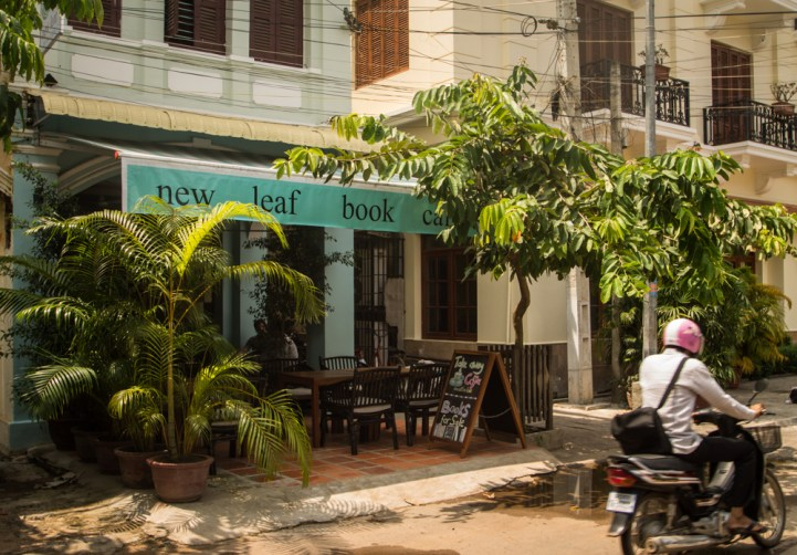 New Leaf Café - our office in Siem Reap!