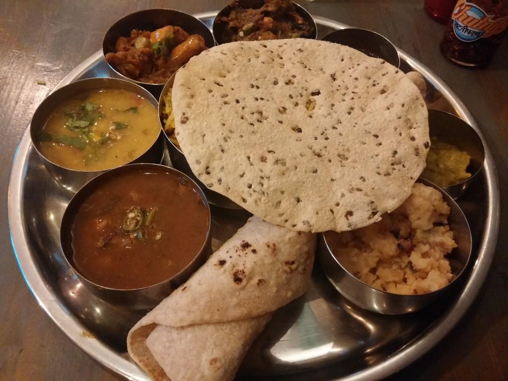The channa masala was so good!