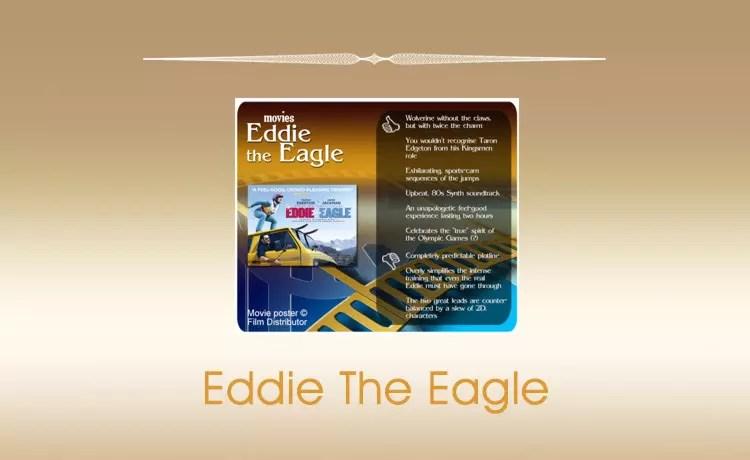 Movie Review: Eddie the Eagle