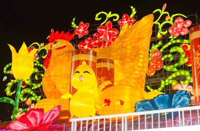 River Hongbao 2017 Chinese New Year's Eve.
