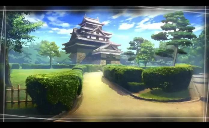 Root Letter Matsue Castle.