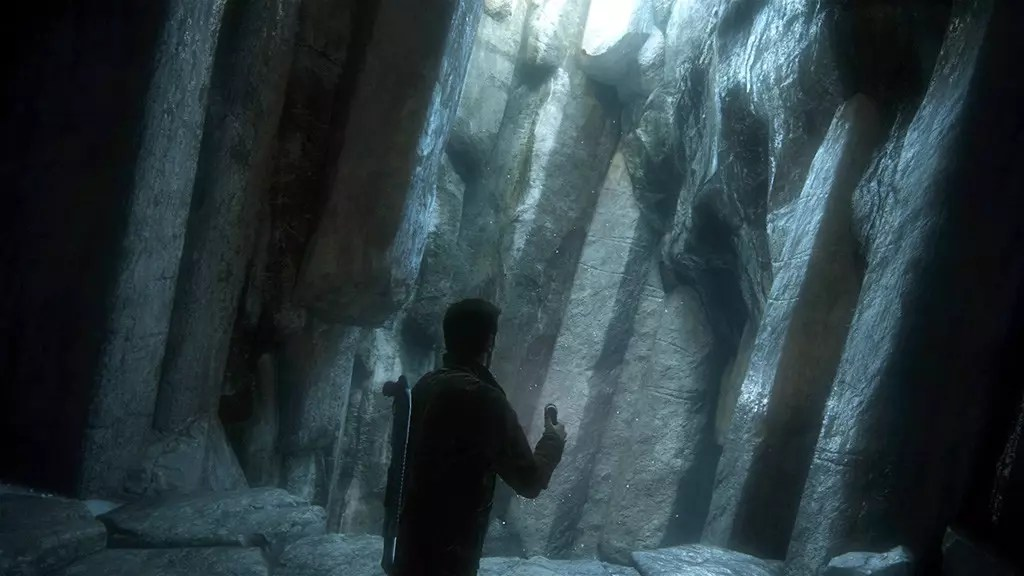 Uncharted 4 Cave.