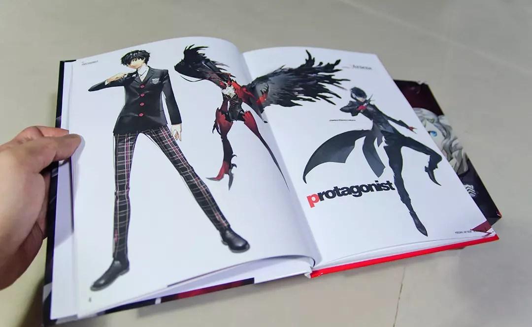Persona 5 Take Your Heart Premium Edition Artbook.