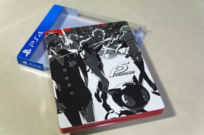 Persona 5 Limited Edition Steelbox