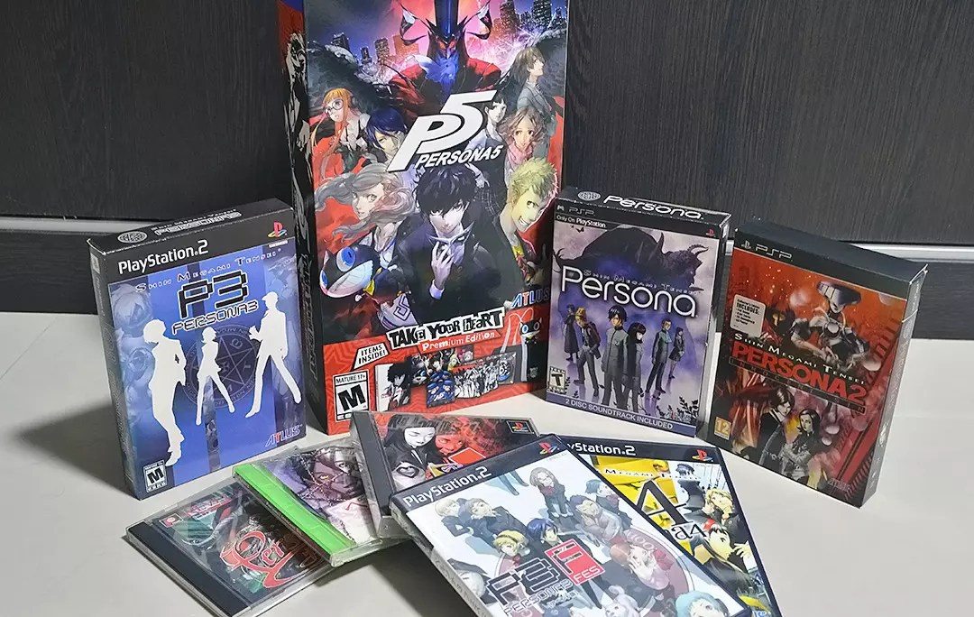 My Persona Game Collection.