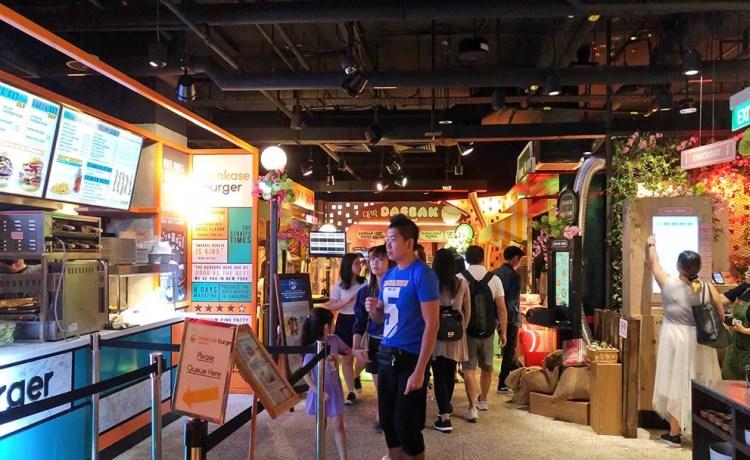 Picnic Urban Food Park Wisma Atria, Singapore.
