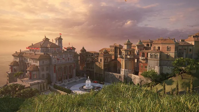 Uncharted 4 - Overview of the Rossi Estate