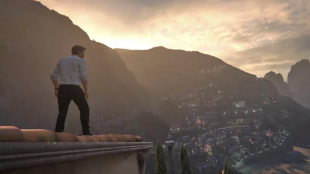 Uncharted 4 Amalfi Coast. A Thief's View.