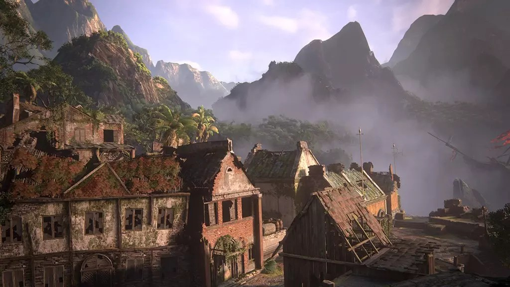 Uncharted 4 Libertalia Houses