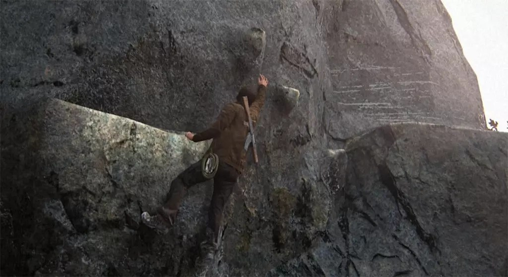 Uncharted 4: A Thief's End: Cliff Scaling