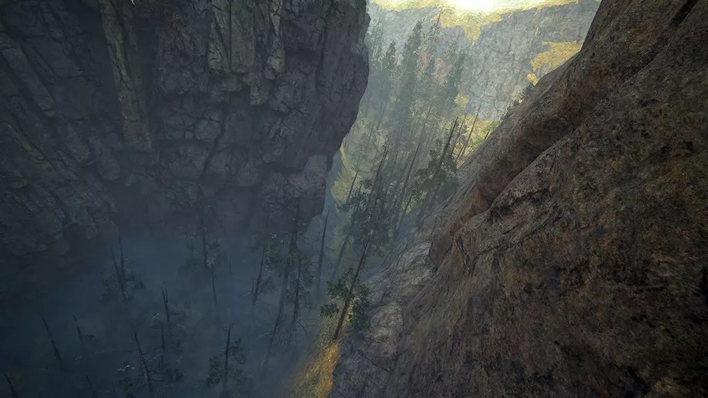 Uncharted 4: A Thief's End - Scotland Ravine.
