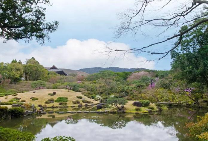 Isuien Garden of Nara