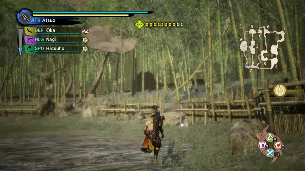 Toukiden Kiwami Age of Grace Bamboo Forest.