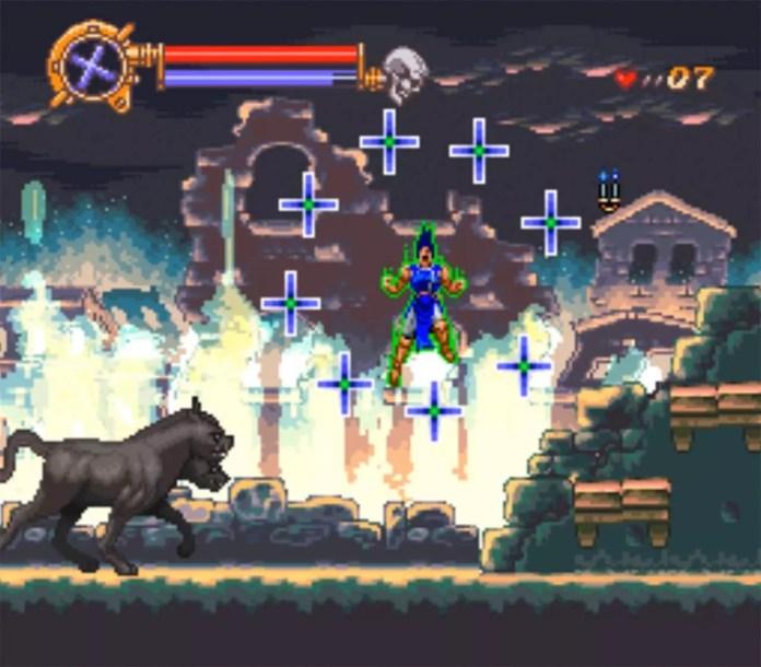 SNES Dracula X Screenshot