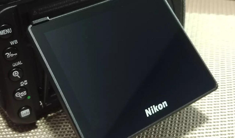 Nikon D7500 Touch Screen
