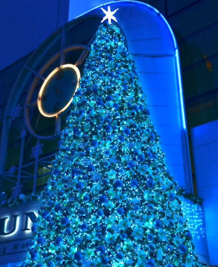 Forum Galleria Christmas tree 2017.