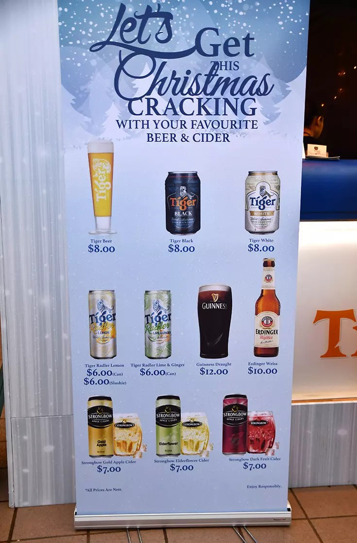 Beer Promotion at Orchard Road's First Christmas Village
