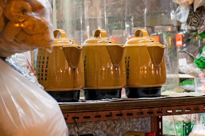 Hong Kong Herbal Tea Shop.