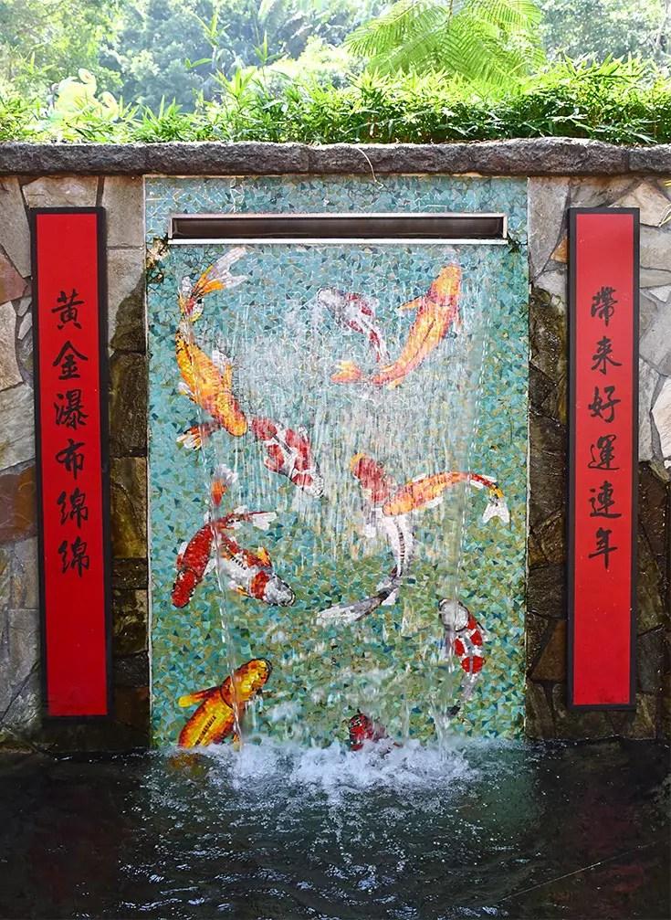 Goldfish Treasures Prosperity Waterfall