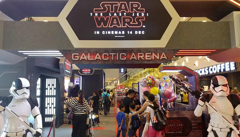 Star Wars: The Last Jedi Event.