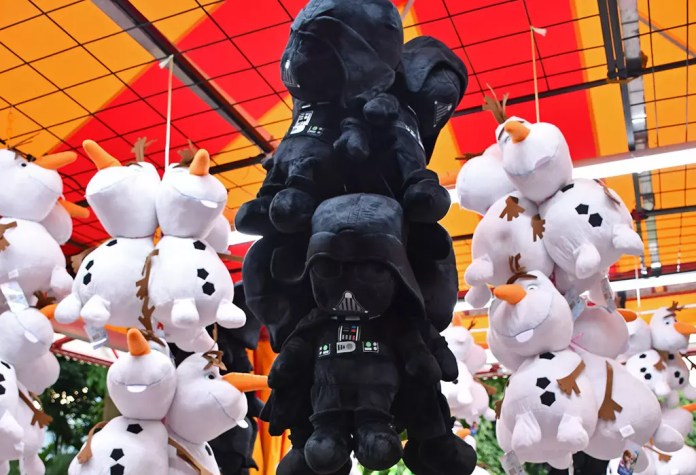 Gardens by the Bay Christmas Wonderland 2017 - Carnival Games Prizes