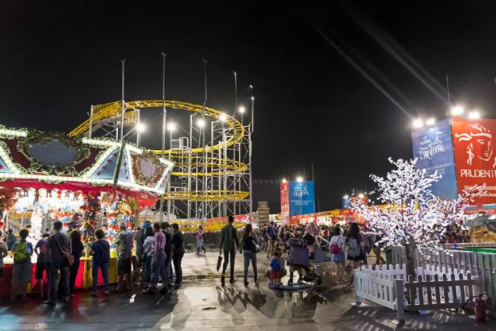 Prudential Marina Bay Carnival 2017 Bayfront Site.