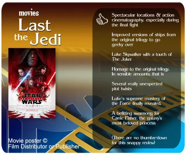 Star Wars: The Last Jedi review: 7 Thumbs Up!
