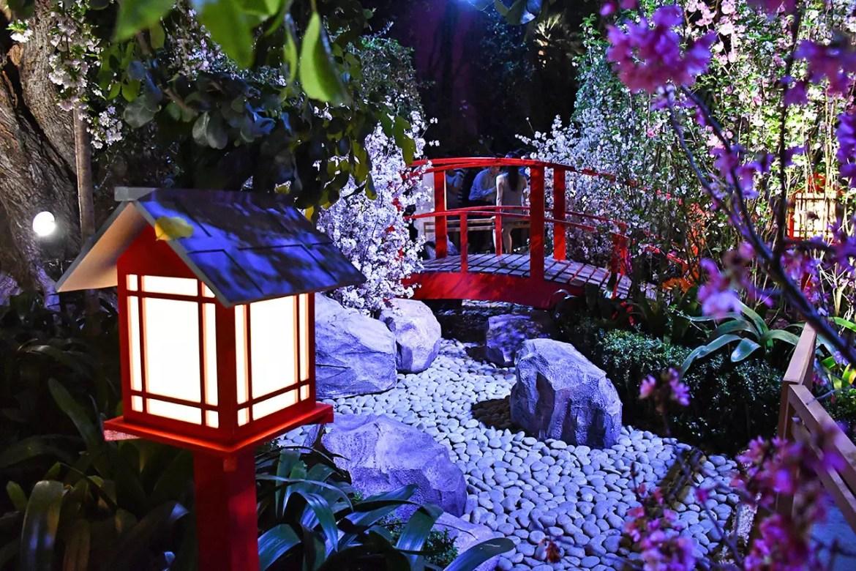 Sakura Matsuri in Singapore.