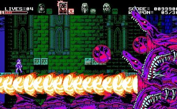 Bloodstained: Curse of the Moon Review.