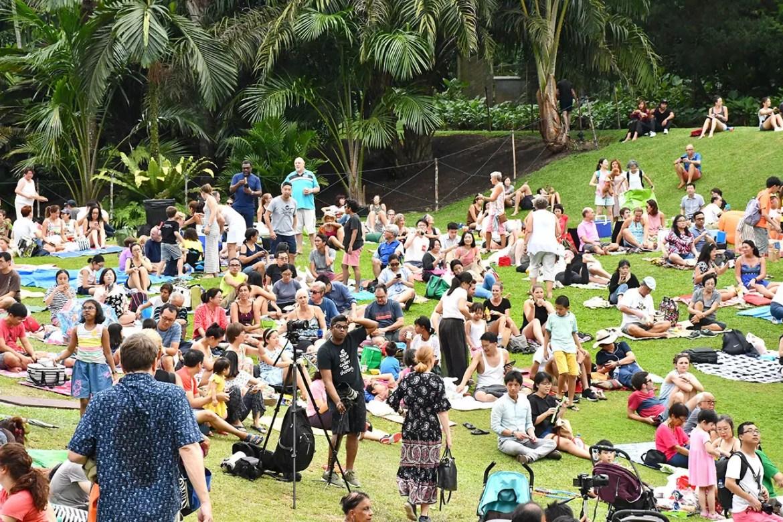 Singapore Botanic Gardens Palm Valley Lawn