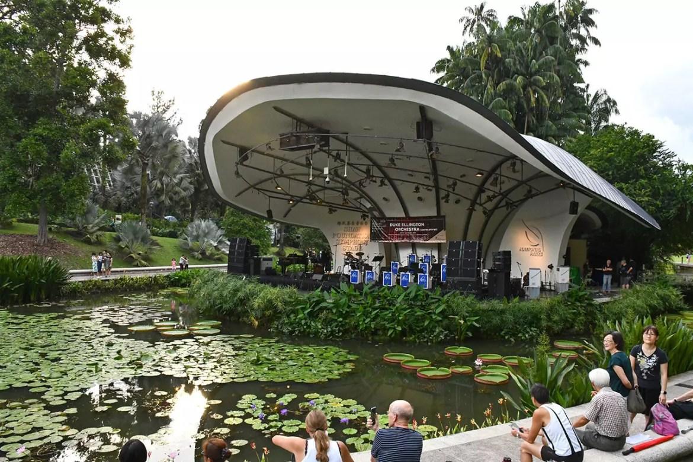 Singapore Botanic Gardens Shaw Foundation Symphony Stage