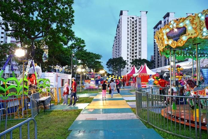 Geylang Serai Bazaar 2018 Carnival Rides.