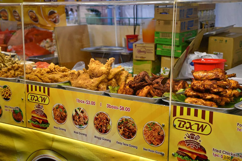 Geylang Serai Bazaar 2018 Fried Finger Foods.