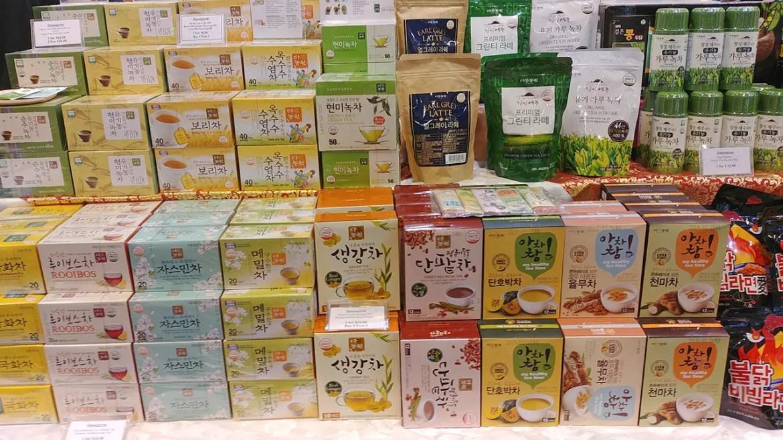 Exotic Korean Tea at Takashimaya Square.