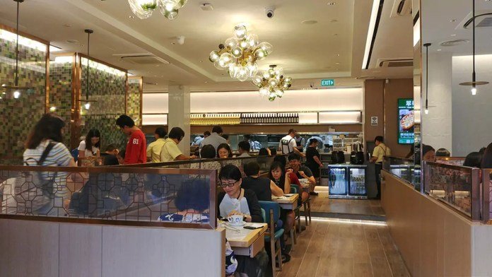 Tsui Wah Singapore, Clarke Quay Outlet Interior