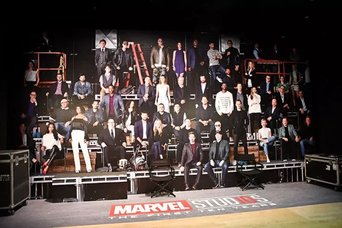 Marvel Studios 10 Years Photo.