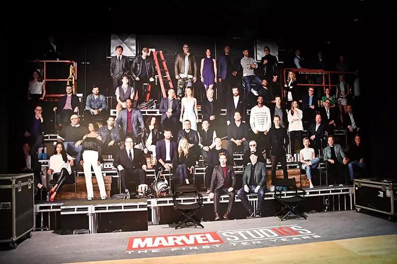 Marvel Studios 10 Years Photo.