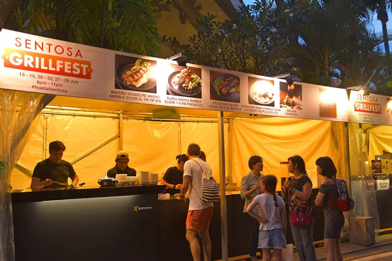 Wagyu Delights at Sentosa GrillFest 2018.