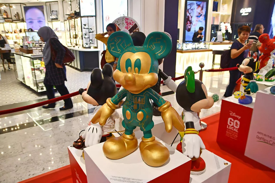 Smart Nation Mickey Mouse